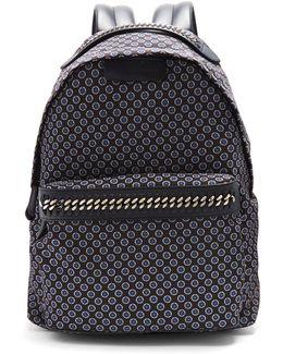 Falabella Go Tie-print Backpack