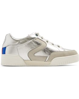 S Star Faux-leather Low-top Trainers