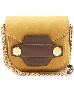 Stella Popper Faux-suede Cross-body Bag