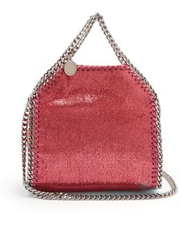 Tiny Falabella Faux-suede Cross-body Bag