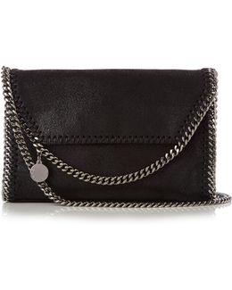 Falabella Mini Faux-suede Cross-body Bag