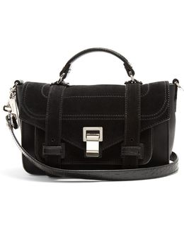 Ps1 Tiny Suede Cross-body Bag