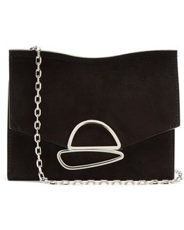 Curl Small Suede Clutch