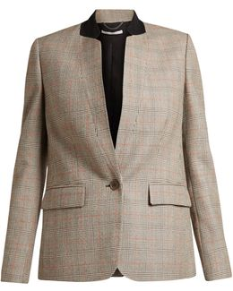 Fleur Prince Of Wales-checked Jacket