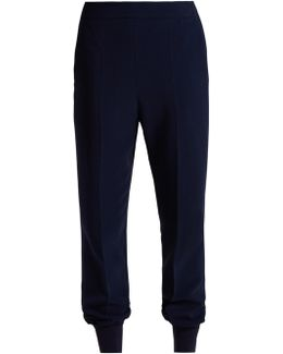 Julia Tapered Cady Trousers
