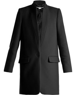 Bryce Single-breasted Wool-blend Coat