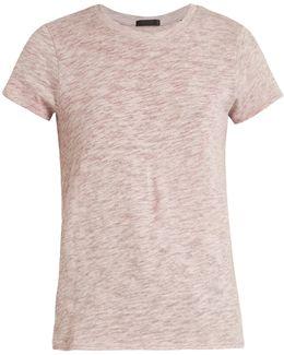Short-sleeved Cotton-blend T-shirt