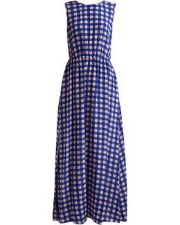 Cossier-print Silk Maxi Dress