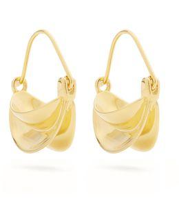 Mini Gold-plated Earrings