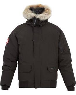 Chilliwack Fur-trimmed Bomber Jacket
