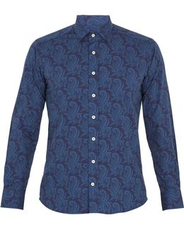 Paisley-print Cotton Shirt