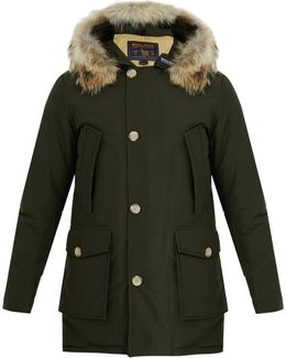 Arctic Fur-trimmed Down Parka