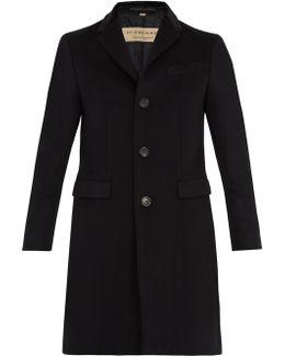 Bishopsgate Notch-lapel Wool-blend Coat