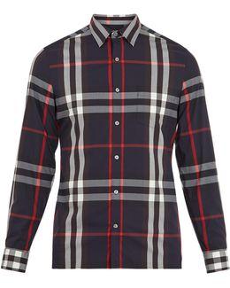 Nelson Single-cuff Cotton-blend Shirt