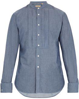 Benfleet Double-cuff Cotton-chambray Shirt