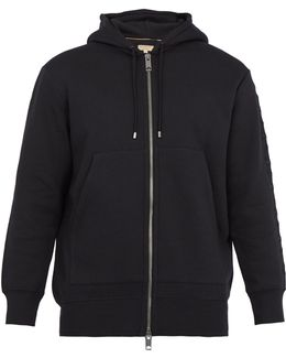 Lestford Cotton-jersey Hooded Sweatshirt