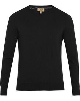 Kenneth Crew-neck Cashmere Sweater