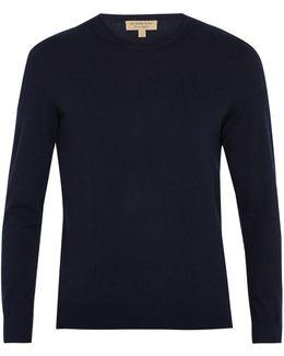 Richmond Crew-neck Cashmere-blend Sweater