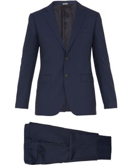 Attitude-fit Single-breasted Wool Suit