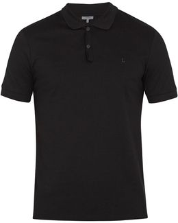 Logo-embroidered Cotton Polo Shirt