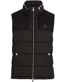 Cesar Quilted Down Gilet