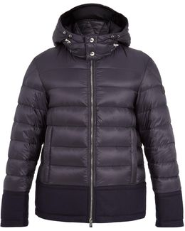 Riom Wool-trimmed Quilted Down Jacket