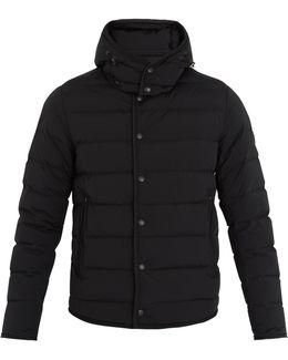 Nazaire Detachable-hood Quilted-down Coat