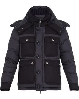 Rillieux Contrast-panel Down Coat