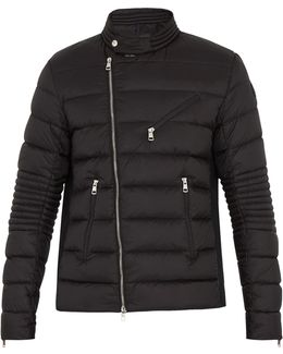Aubin Down Biker Jacket
