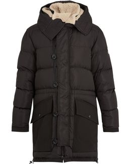 Loic Shearling-collar Quilted-down Parka