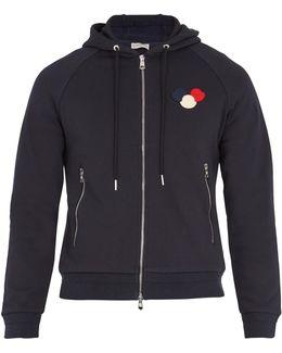 Logo-appliqué Hooded Sweatshirt