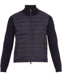 Cardigans High-neck Down Jacket