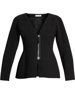 Campion Zip-up Collarless Jacket