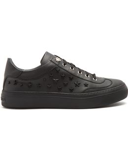 Ace Star-appliqué Low-top Leather Trainers