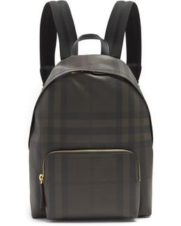 Abbeydale Leather-trimmed Backpack