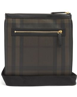 Beckley Leather-trimmed Messenger Bag