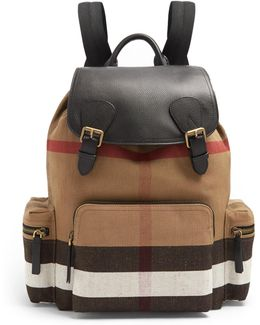 The Large Canvas Backpack