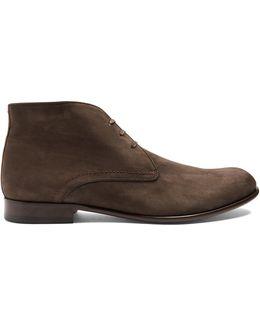 Griffin Nubuck-leather Desert Boots