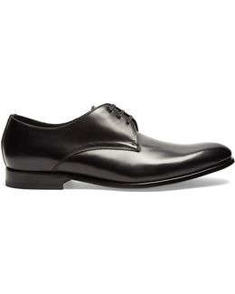 Christopher Leather Derby Shoes