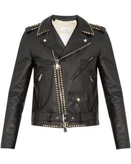 Rockstud Untitled #20 Leather Jacket