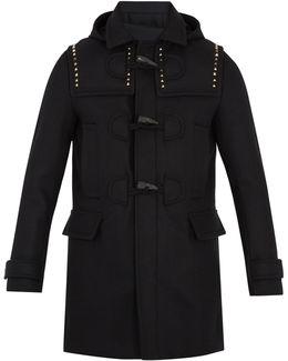 Rockstud Untitled #24 Wool Duffle Coat