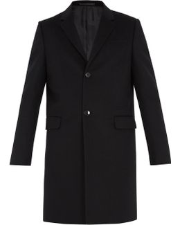 Single-breasted Cashmere-blend Overcoat