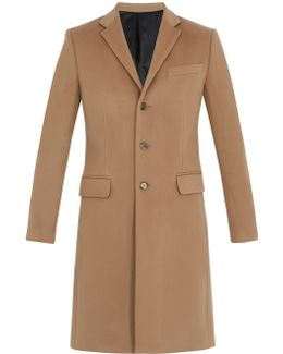 Notch-lapel Wool And Cashmere-blend Overcoat