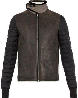 Fur-trimmed Shearling Jacket