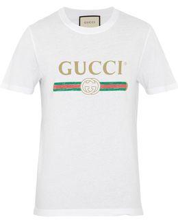 Cotton-jersey Logo T-shirt