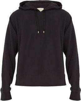 Dragon-embroidered Hooded Sweatshirt