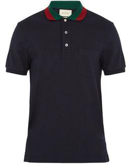 Stretch-cotton Piqué Polo Shirt