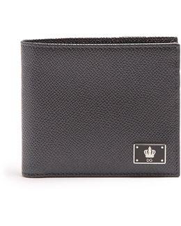 Logo-plaque Leather Wallet