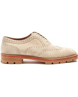 Charlie Suede Oxford Shoes