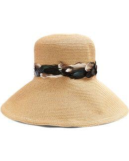 Batu Tara Wide-brim Paper-straw Hat